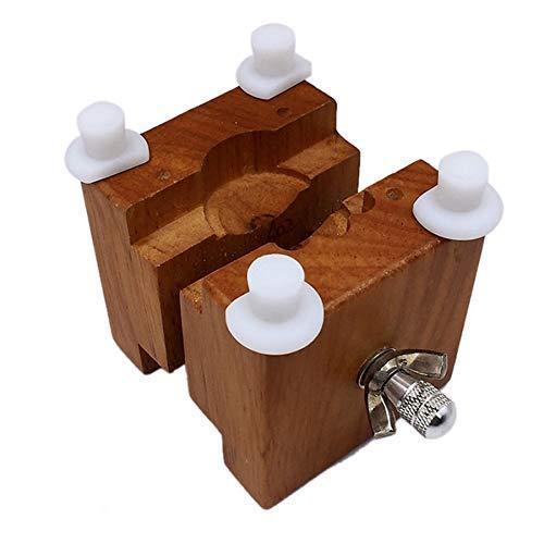 WEHQ Strumento di Riparazione dell'orologio, Strumenti di Manutenzione dell'orologio Morsetto del Sedile in Legno Sede del Tavolo Movimento dell'orologio Sedile Fisso, Strumento di Riparazione