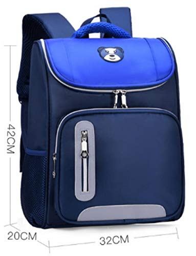 1-3-6 Grado Bolsas de Escuela de Descarga para niños Bolsas de Espacio Mochilas, Azul (Azul) - 9325923