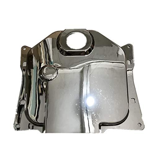 WONYAN Motocicleta Piezas For Honda DIO Zoomer AF58 cromo de la motocicleta tapón del depósito de combustible de la cubierta del tanque de combustible Chapado