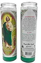 Glow Bright St Jude Thaddeus - San Judas Tadeo 7 Day Candle (Pack of 6) - 8 inch Candles