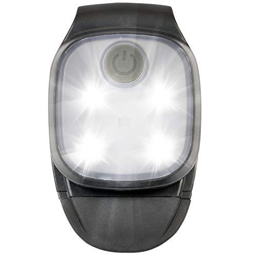 Asigo LED Clip Lampe   Wiederaufladbare USB Stirnlampe   Kopflampe für Kinder / Freihändig verwendbar beim Laufen, Wandern, Arbeiten - Wasserdicht