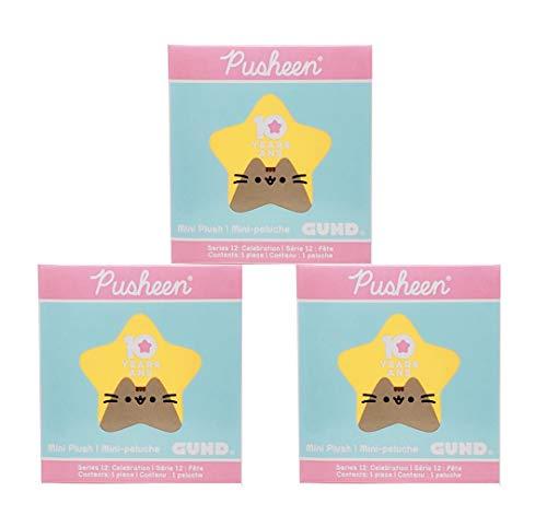 The Neko Cafe Pusheen Blind Box Series #12: Celebration, 3-Pack Bundle