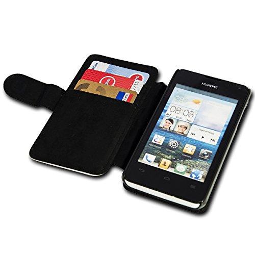 sw-mobile-shop Book Style Flip Handy Tasche Case Schutz Hülle Schale Motiv Etui für Huawei Y360 - Flip 1A46 Design4 - 5