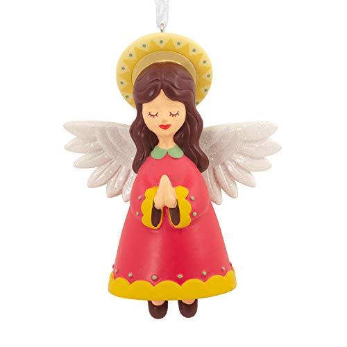 Hallmark Vida Christmas Ornament, Folk Art Angel