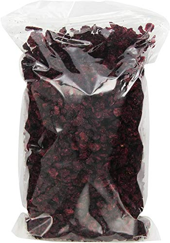Cherry Bay Orchards - UNSWEETENED 1 lb. Low Moisture Dried Cranberries - No Added Sugar, All Natural Ingredients, Gluten Free, Non GMO