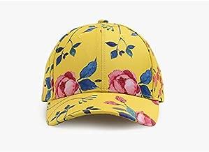Baseball Hat Flowers Baseball Cap Duck Tongue Graffiti Tide Men Women Street Dance Hip Hop Cap Baseball Cap Hat For Women LZHCUICAN (Color : Yellow, Size : 55-58CM)