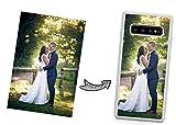 IDcaseFR Coque Silicone Bumper Souple Samsung Galaxy Note 10 Plus -Coque téléphone avec Photo...