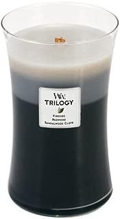 WoodWick Candle Warm Woods Trilogy Large Jar