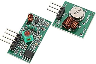 Arduino 433Mhz RF Wireless Transmitter and Receiver Module