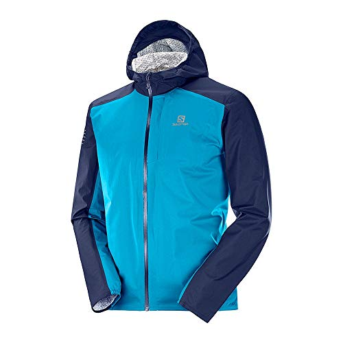 SALOMON Chaqueta BONATTI Waterproof Azul Navy
