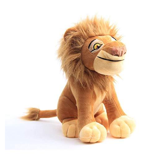 Juguete de Peluche Nuevo 30 cm El Lion King Simba Soft Kids Doll 11.8 '' Young Simba Relleno Animales de Peluche Juguete Juguete Regalos Casa (Color : Mufasa)
