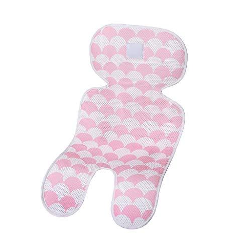 BGH ER-NMBGH 3D-Spaziergänger Mat atmungsaktiv, Sitzkissen Kleinkind, Komfortabel Pad für Baby-Sommer