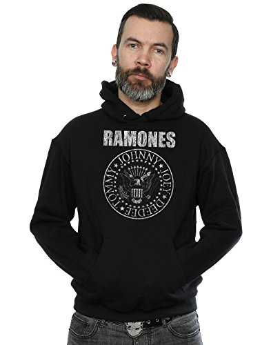 Ramones Hombre Presidential Seal Capucha X-Large Negro