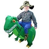 CestMall Costume da Dinosauro, Costume Gonfiabile...