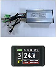 NBPower 36V/48V 750W 25A Brushless DC Motor Controller Ebike Controller +KT-LCD8H Color Display One Set,Used for 750W-1000W Ebike Kit.