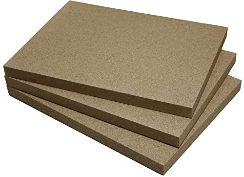 Vermiculite-Platte (3, 500 x 300 x 20 mm)