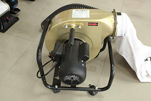 Best Price! Bucktool 1HP Wall-mount Dust Collector, with 6.5AMP 550CFM Air Flow and Dust Bag
