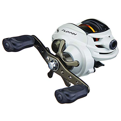 Ardent Arrow Flipping Baitcasting Reel, Aluminum Handle, Narrow Spool, 7.0:1, Right Handed, Full Warranty, USA-Serviced