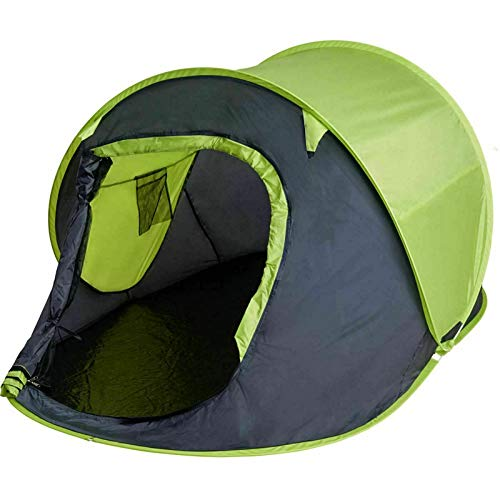 MantraRaj Pop Up Tent 2 Person Easy Quick Pitch Portable Beach Outdoor Tent Festival Hiking Fishing Camping Waterproof Water-Resistant With The Included Carry Bag X 1 Random Color Sent