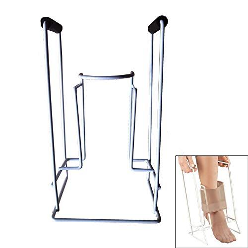 BALLSHOP Strumpfanzieher Strumpfanziehhilfe Anziehhilfe für Kompressionsstrümpfe Sockenhilfen 20,5 x 17 x 36 cm