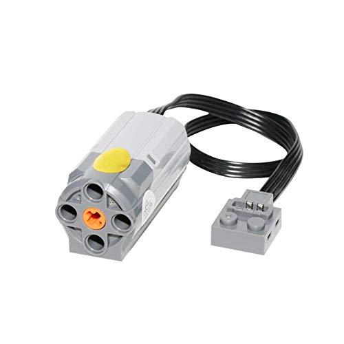 Riosupply Piezas de Bloques de construcción de Motor Mediano, Compatible con Motores Lego 8883