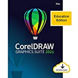 CorelDRAW Graphics Suite 2021 | Education Edition | Graphic Design Software for Professionals | Vector Illustration, Layout, and Image Editing [Mac Download]