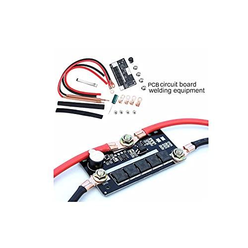 Juego de soldador por puntos de 12 V, máquina de almacenamiento de soldadura por puntos de batería portátil, placa de circuito PCB para 18650