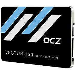 OCZ Vector 150 Memoria SSD, 480 GB, SATA III, 2.5´´, Ultra Slim, 7 mm, Nero/Argento