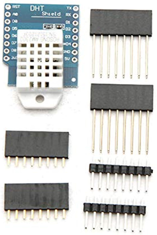 3Pcs DHT22 Single Bus Digital Temperature Humidity Sensor Shield for D1 Mini  Arduino Compatible SCM & DIY Kits Module Board 3 x DHT22 Shield