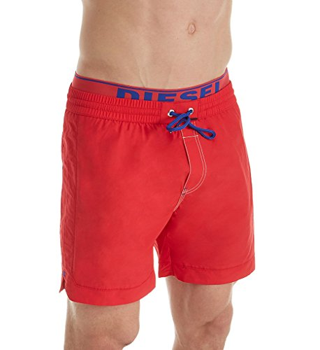 Diesel Herren BMBX-Dolphin-S Shorts, Rot (Red 42B), X-Large