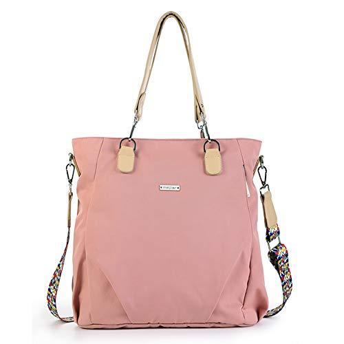 Baby Diaper Bag Waterproof Mummy Bag,Large-Capacity Mommy Handbag (Coral)