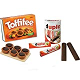 #11 Kaufladenzubehör Schoko-Set mit Toffifee und Duplo - Kaufladen Zubehör Schokolade Holz Kinderküche Spielküche-Zubehör Kaufmannladen