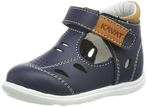 Kavat Unisex-Kinder Backe Geschlossene Sandalen, Blau (Blue 989), 22 EU