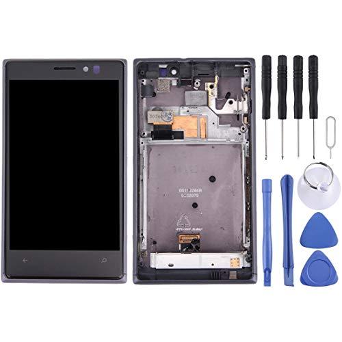 Nokia Spare Display LCD + Touch Panel con Cornice for Nokia Lumia 925 (Nero) Nokia Spare