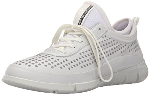 Ecco ECCO Damen Intrinsic 1 Ladies Sneakers, Weiß (White/White 50874), 42/42.5 EU