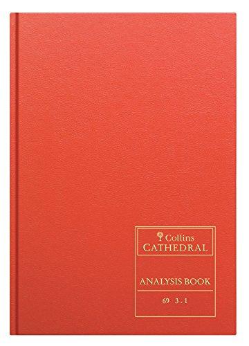 Collins Cathedral A4 69 Série 3 Colonnes de trésorerie Livre d'analyse - 69/3.1