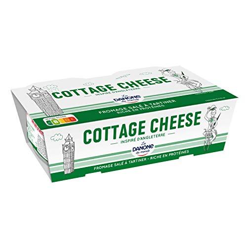 Danone du monde Cottage cheese fromage frais 2x200g