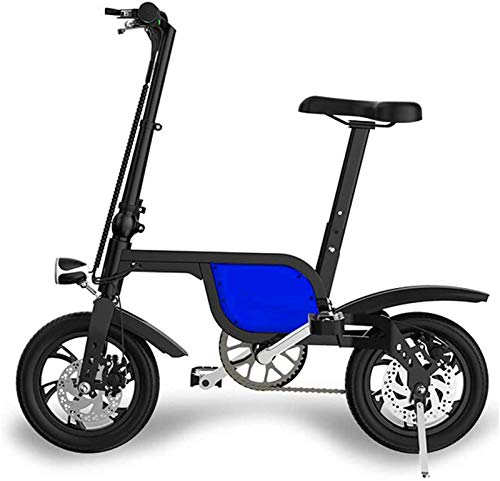 Bicicletas, Bicicleta eléctrica Fat Tire bicicleta 36 V 6 Ah Batería de litio 250 W Motor Velocidad máxima 25 km / h Freno de disco 3 modos de conducción Llantas neumáticas de 12 pulgadas Bicicleta de