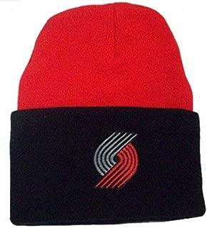 adidas NBA Portland Trail Blazers Cuffed Knit Hat K589Z