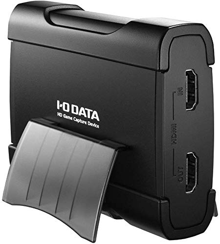 【Amazon.co.jp限定】I-O DATA HDMI ゲームキャプチャー USB3.0 ゲーム実況 録画 編集ソフト付 XSplitライセンス(2ヶ月分) GV-USB3HD/E