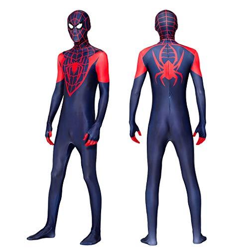 YUNMO Attrezzature Fun Spider-Man cosplay3D Stampa Digitale Gioca Costume Halloween Collant Monopezzo (Size : XL)