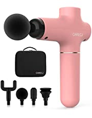 Massage Gun Professional CARECJ Upgraded Percussion Electric Muscle Massager Gun Handheld Deep Tissue for Athletes with More Massage Heads and Carrying Case