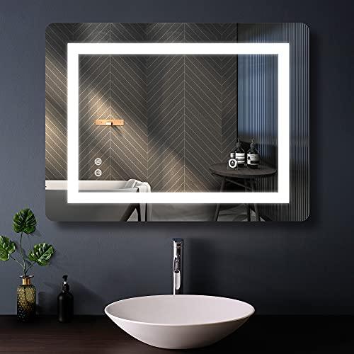 FRALIMK Bathroom LED Mirror 24