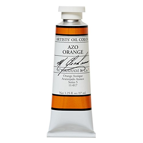 M. Graham & Co. Oil Paint, AZO Orange