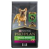Purina Pro Plan High Protein Small Breed Dog Food, Shredded Blend Lamb & Rice Formula - 6 lb. Bag