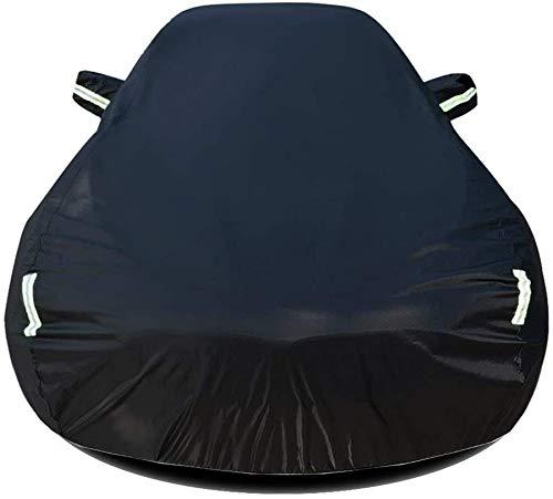 Fundas de coche compatibles con Kia Optima protección para todo tipo de clima, protección exterior impermeable, cubierta protectora contra el sol, protección UV, color A