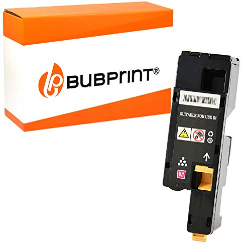 Bubprint Toner kompatibel für Xerox 106R01628 für Phaser 6000 6010 6010N WorkCentre 6015 6015VB 6015VN 6015VNI 1.000 Seiten Magenta/Rot