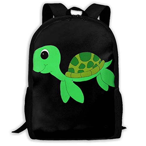 TRFashion Sac à Dos Cute Sea Turtle Fashion Outdoor Shoulders Bag Durable Travel Camping for Kids Backpacks