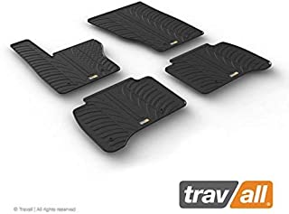 Travall Mats Compatible with Land Rover Range Rover Sport (2013-Current) and SVR (2015-Current) TRM1276 - All-Weather Rubber Floor Liners