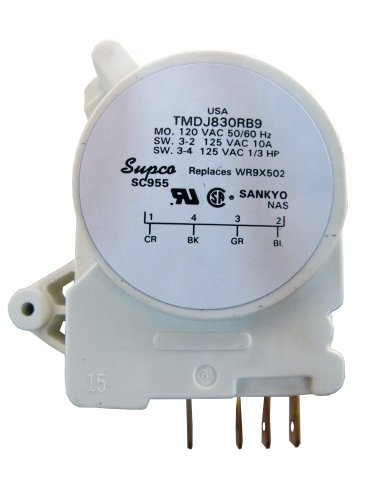 Supco SC955 Defrost Timer GE Exact WR9X502